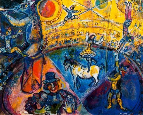 marc chagall the-circus-1964